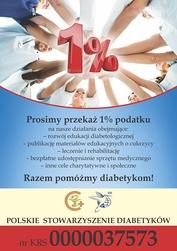 1 procent Polskie Stowarzyszenie Diabetykow
