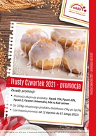 promocja Tlusty Czwartek 2021